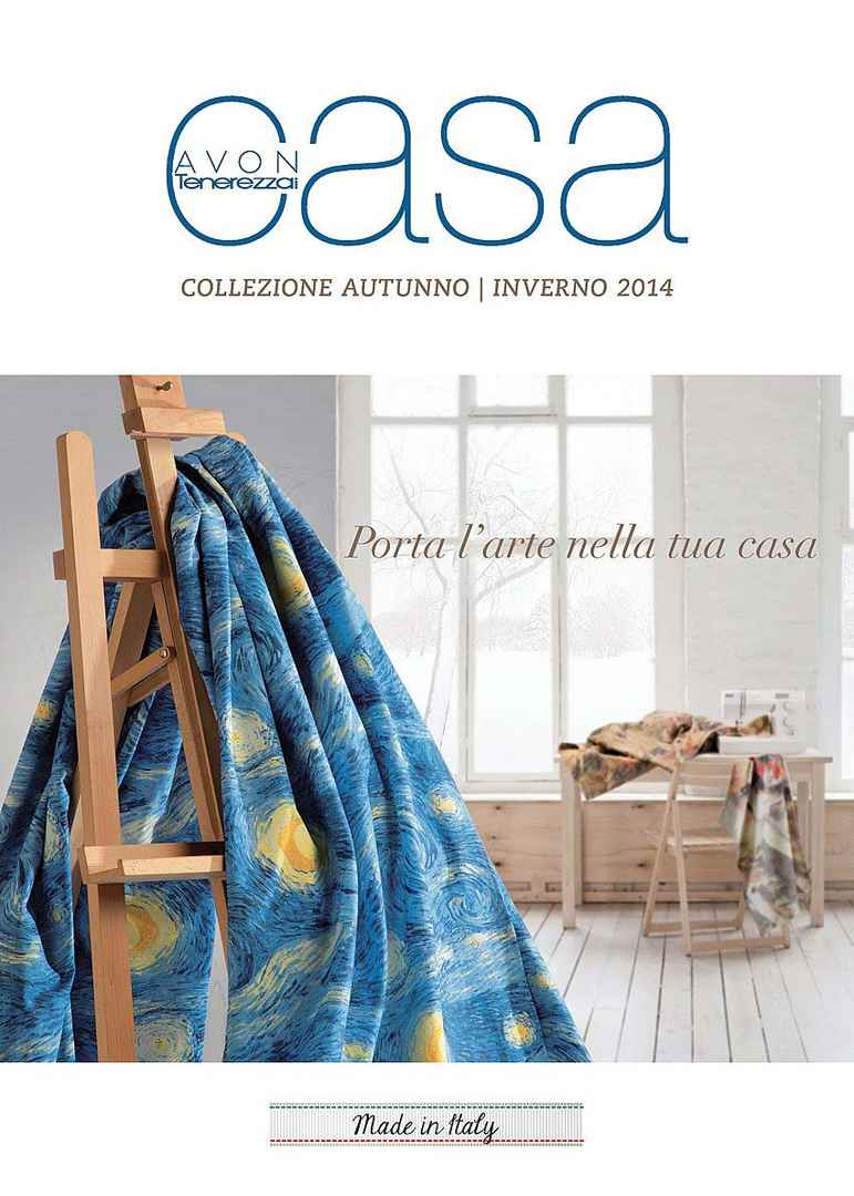 Avon casa collezione autunno inverno 2014 for Set completo di piani casa pdf